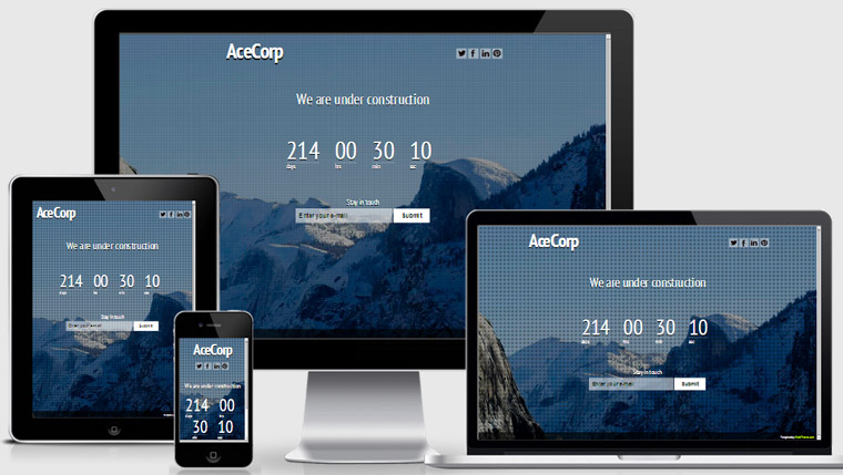 ace-responsive-coming-soon-template