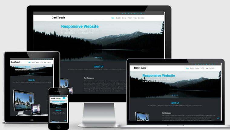 Portfolio Bootstrap Template