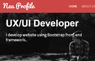 Profile Responsive Web Template