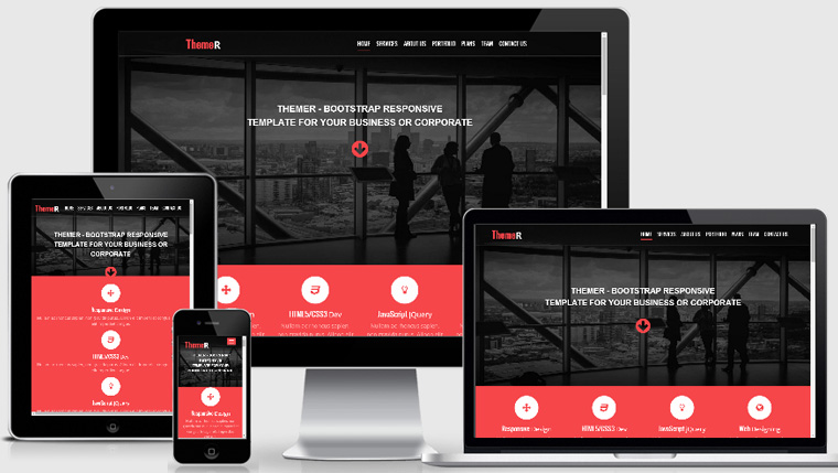 Free Bootstrap Responsive web template