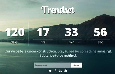 Coming Soon Web Template