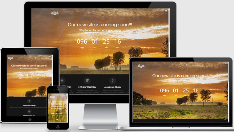 Coming soon html template