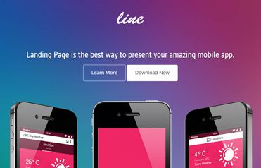 App Landing Page Free Responsive Website Template