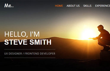 Resume portfolio template free download webthemez yelopaper Gallery