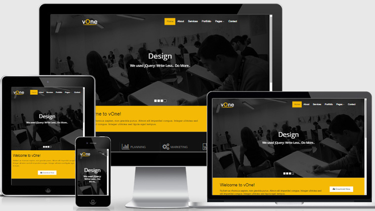 Download Free Business HTML5 Website - WebThemez