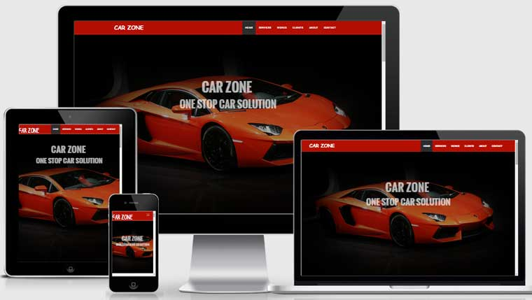 Car Wash Website
