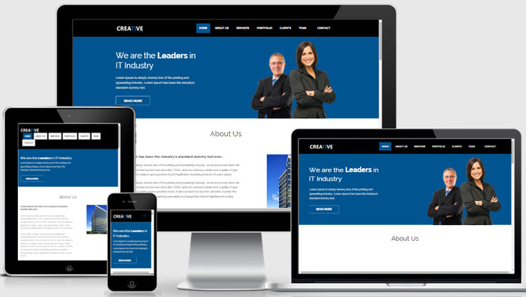 Bootstrap Business Template
