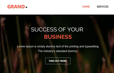 Grand-free-bootstrap-responsive-website
