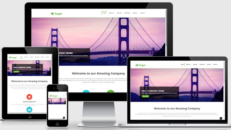 multipurpose responsive template - Free Responsive Website Templates