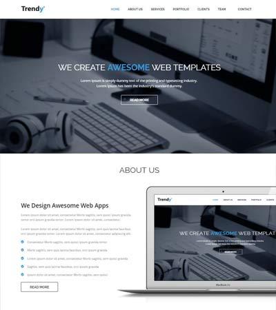 corporate html5 web template