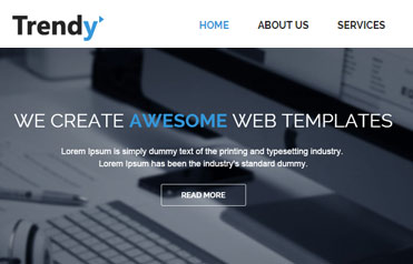Trendy-free-bootstrap-responsive-website