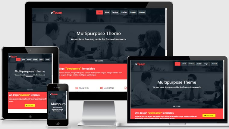 Corporate-Multipurpose-Free-Bootstrap-Responsive-template