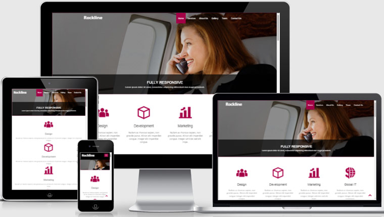 Free-Bootstrap-Template-Rockline-Business