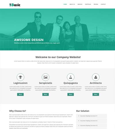 Multi Page Website Templates Free Download 2019 Webthemez