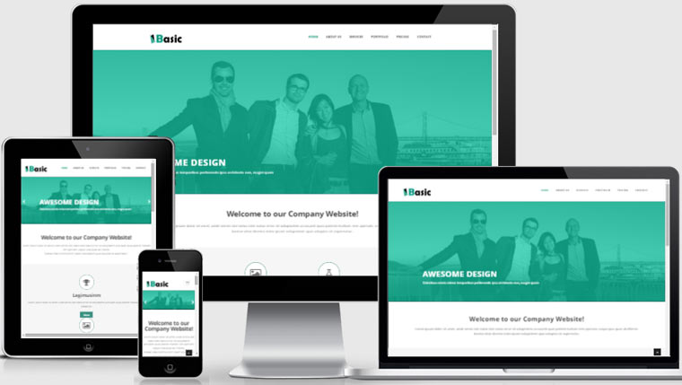 Basic Free HTML5 Template