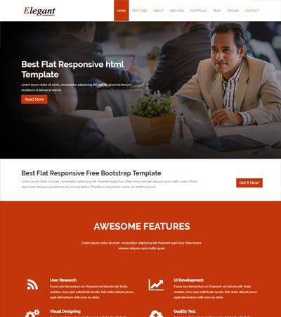 free responsive website agency