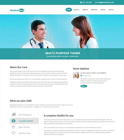 Multi Page Website Templates Free Download WebThemez - Complete website templates free download
