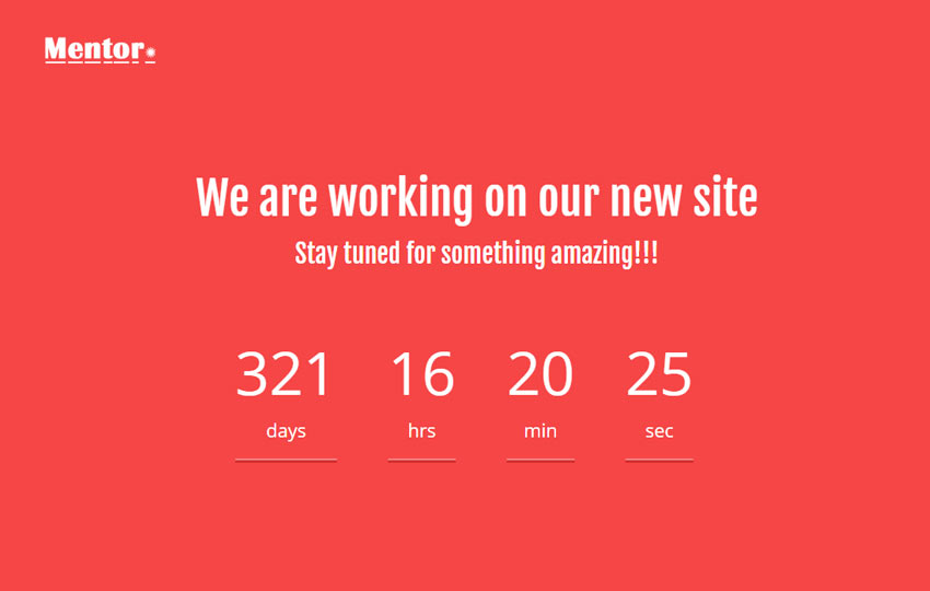 bootstrap coming soon template free download