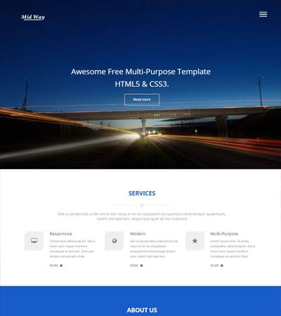 Best html web template