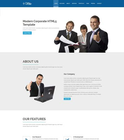 Free HTML5 Corporate Website
