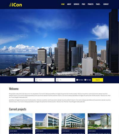 Real-estate Free HTML Template