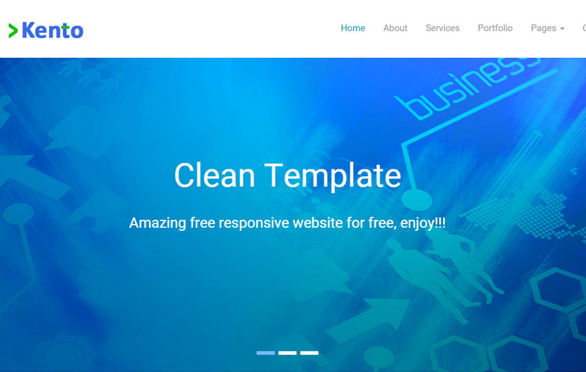 Free Corporate Bootstrap Template