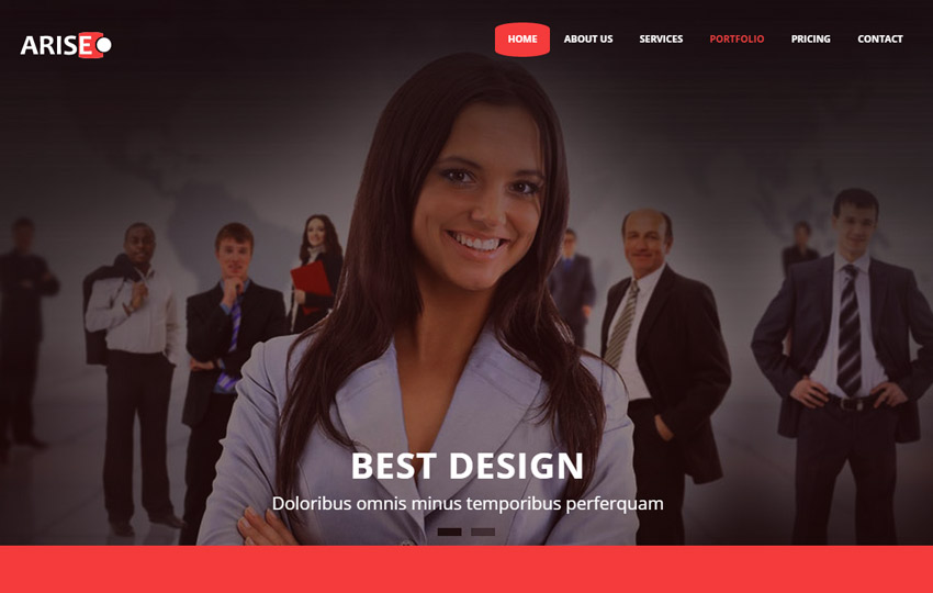 Business html5 template free download webthemez business html5 template wajeb