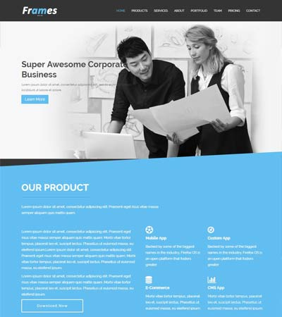 Corporate-Bootstrap-Free-HTML5-Template