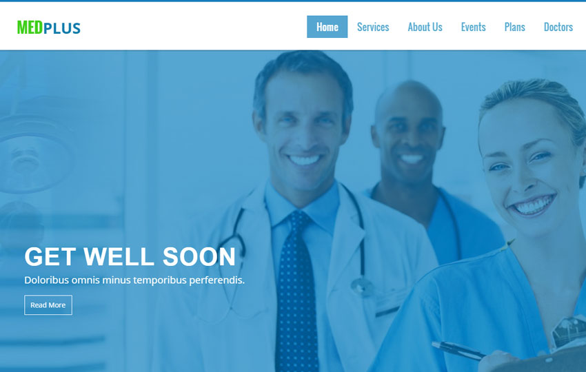 Medical Bootstrap Web Template