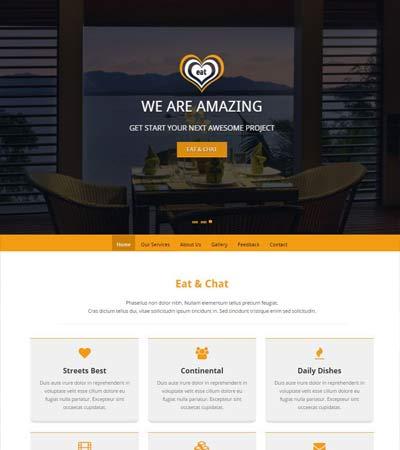 Restaurant-Bootstrap-HTML5-template