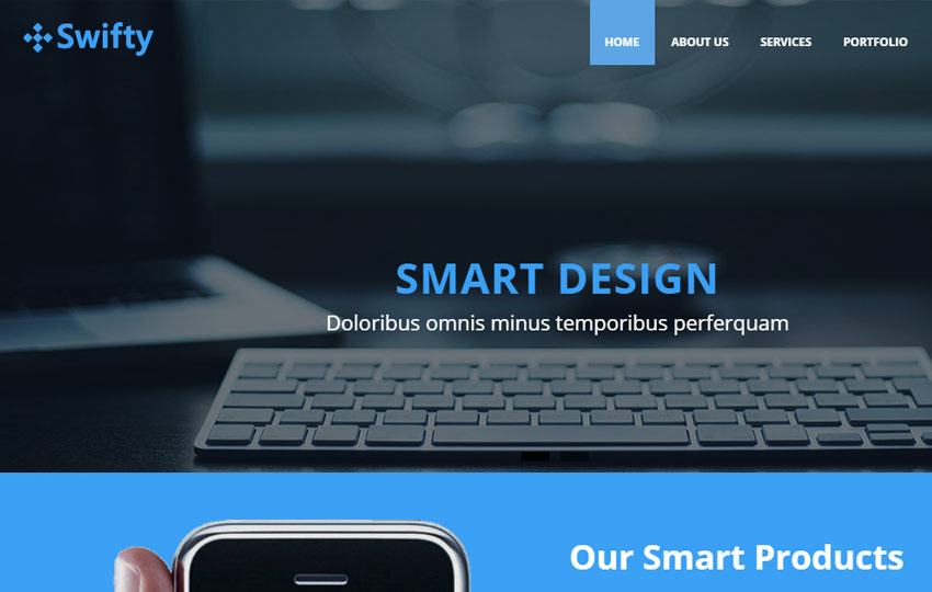 Business html5 website template free download swifty business html5 website template flashek Choice Image