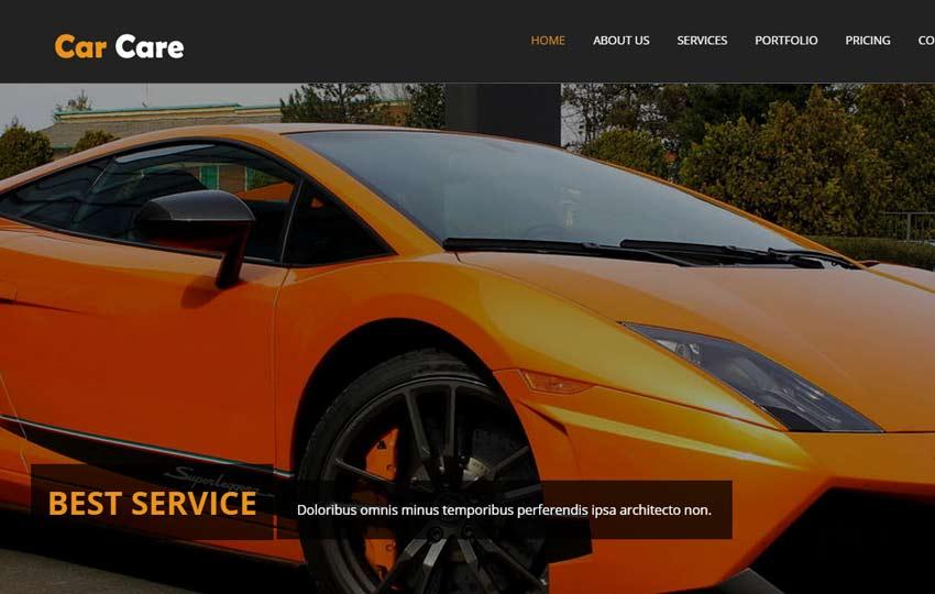 Auto-mobile HTML5 Bootstrap Web Template