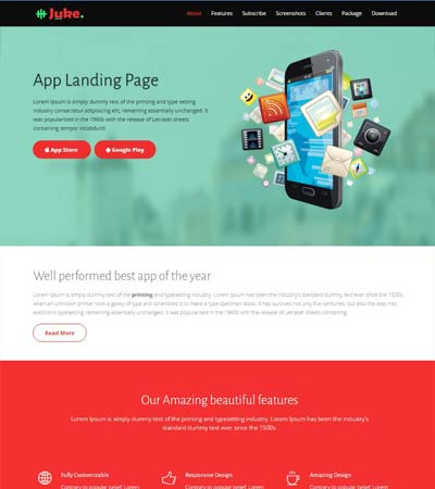 Bootstrap-Multipurpose-Landing-Page
