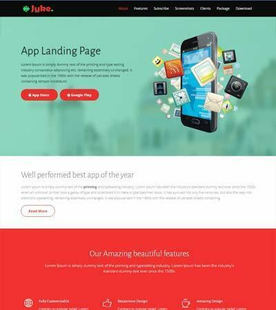 Bootstrap-Multipurpose-Landing-Page