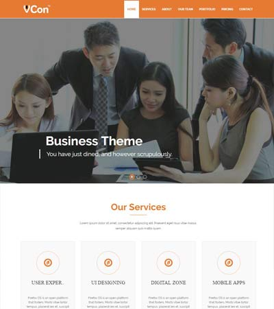 HTML5 Bootstrap Template Free