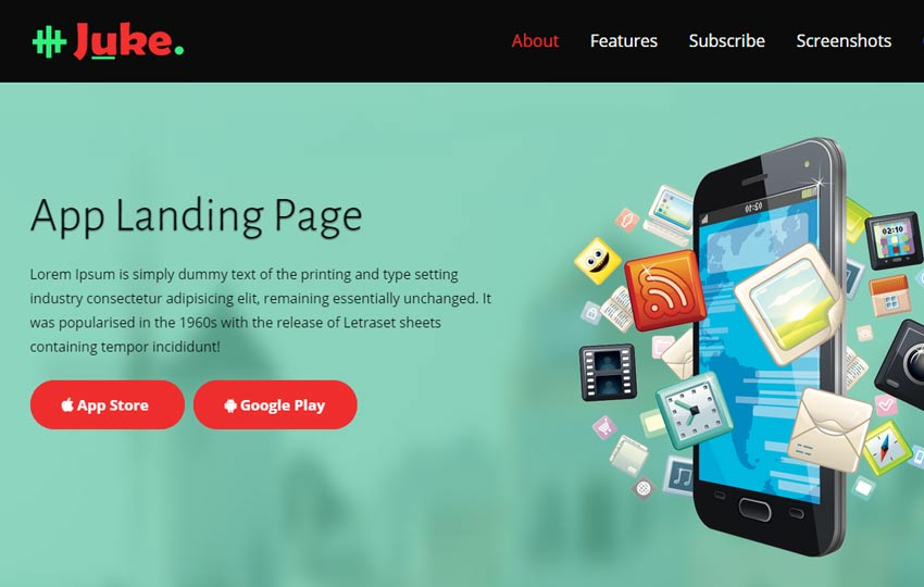 free landing page bootstrap theme