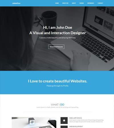 Portfolio-Resume-Bootstrap-Template