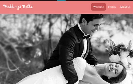 wedding website template free