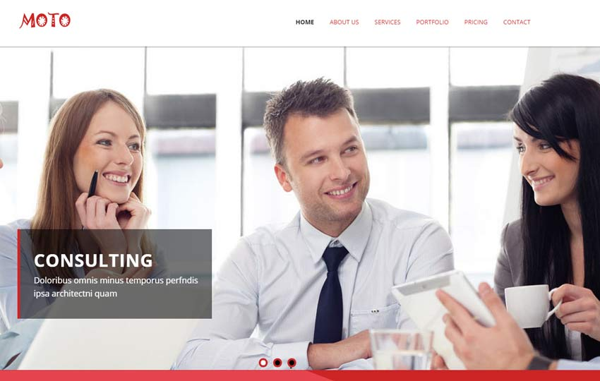 Business HTML5 Responsive Web Template