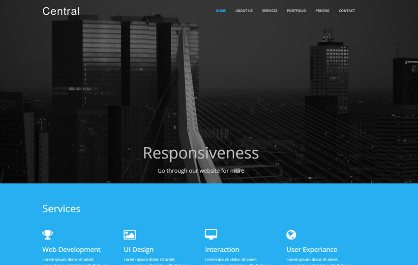 Multi-Purpose Bootstrap Responsive Template
