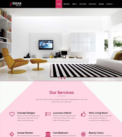 Interior-Responsive-Bootstrap-Template