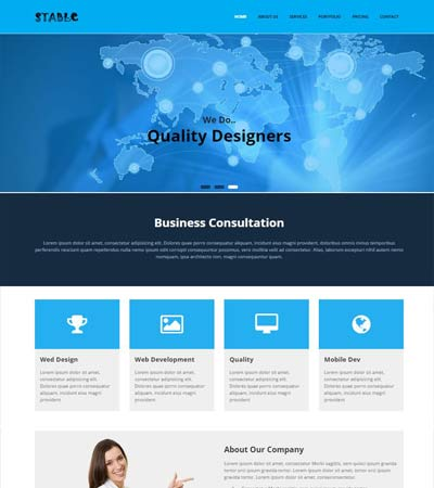 Corporate Website Template