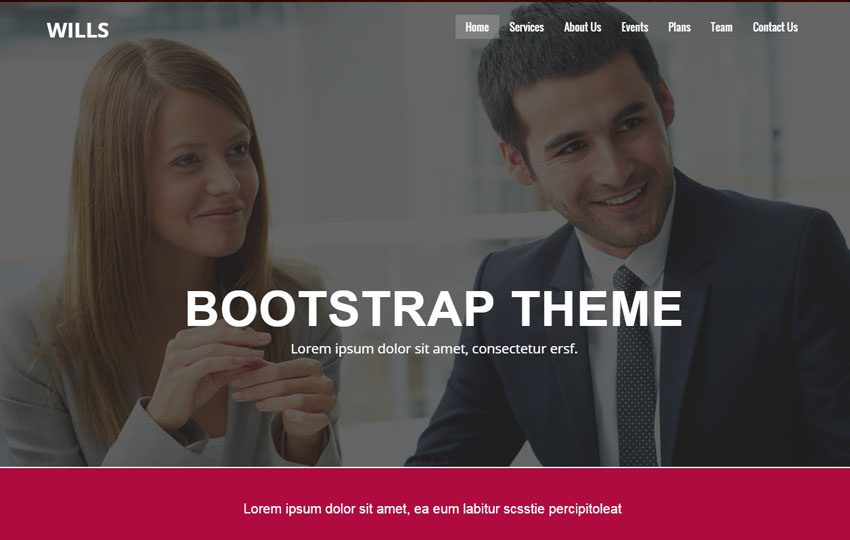 Corporate HTML5 Bootstrap Template