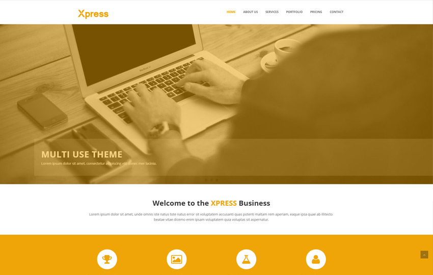 Business Free Bootstrap HTML5 Website Template