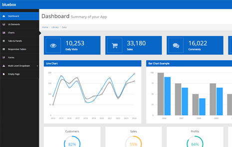 free admin bootstrap template