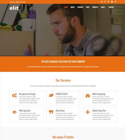 lti-Purpose Bootstrap Template