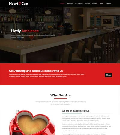Cafe-HTML5-Restaurant-Template