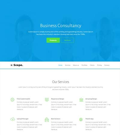 corporate-Bootstrap-template