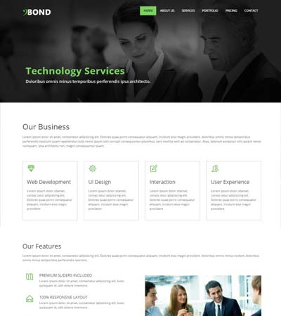 Bootstrap-Corporate-Web-Template