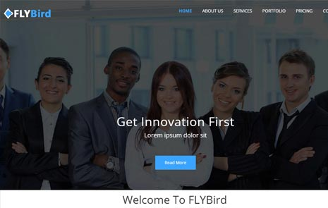 business web bootstrap template